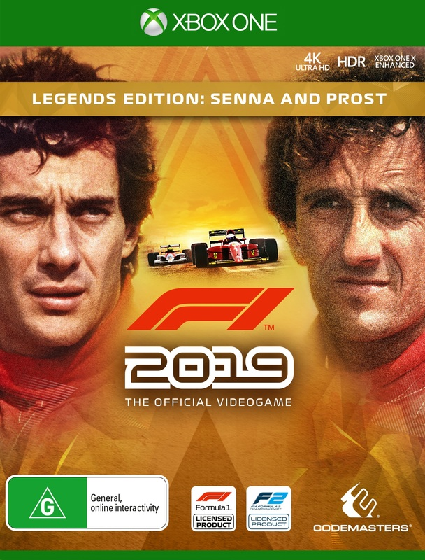 F1 2019 Legends Edition for Xbox One