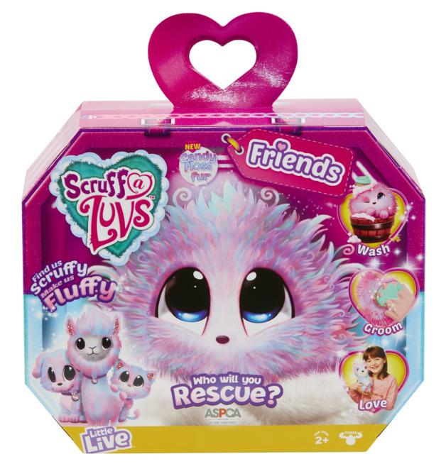 Scruff-a-Luvs: Friends - Candy Floss (Assorted Designs)