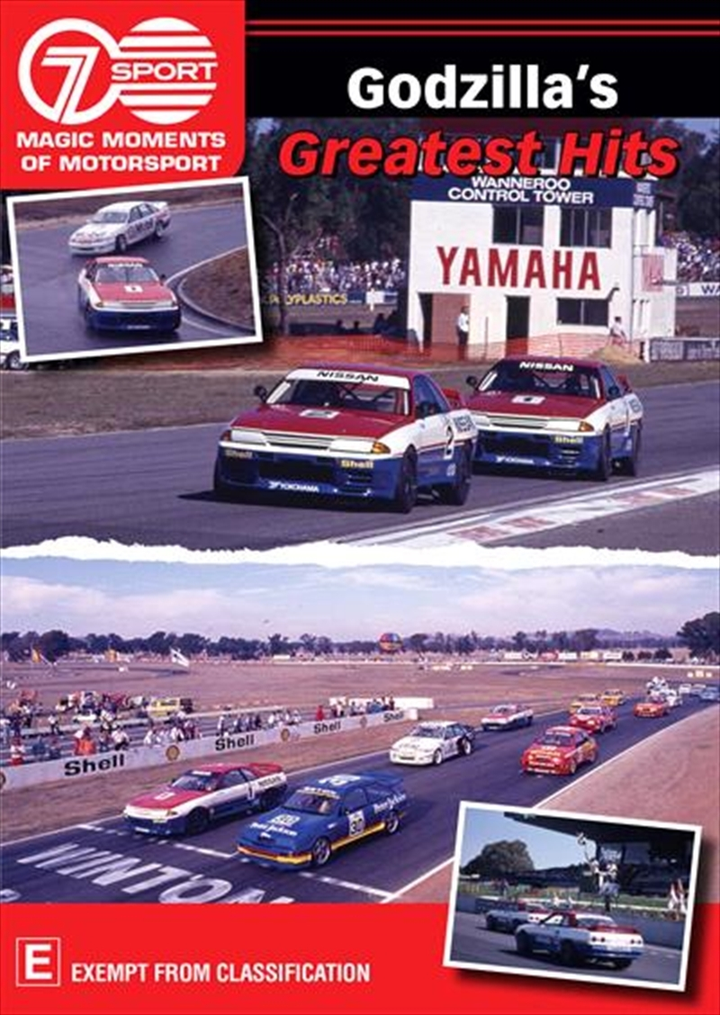 Magic Moments of Motorsport: Godzilla's Greatest Hits on DVD image