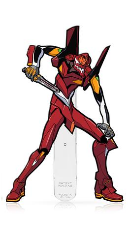 Evangelion: EVA Unit 02 (#X36) - XL FiGPiN