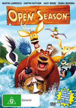 Open Season on DVD