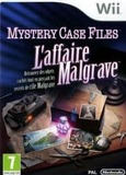 Mystery Case Files The Malgrave Incident for Nintendo Wii