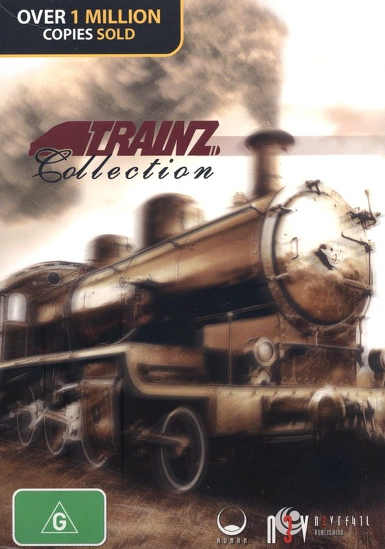 Trainz Collection (8 Game Pack) for PC Games