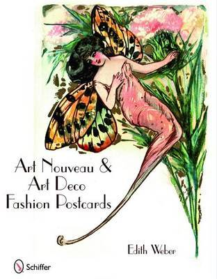 Art Nouveau & Art Deco Fashion Postcards by Edith Weber
