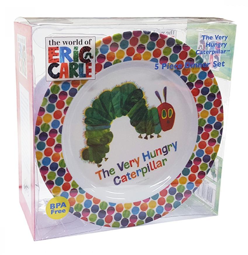 Very Hungry Caterpillar - 5pc Dinner Set image
