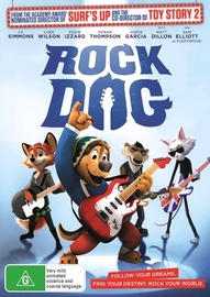 Rock Dog on DVD