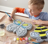 Mindware Create: Paint Your Own - Butterfly Stepping Stone image