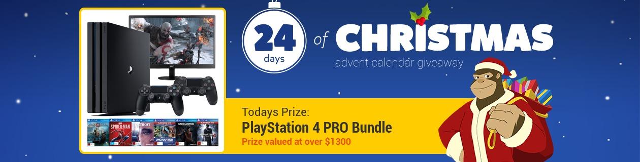 24 Days: PlayStation 4 PRO Bundle