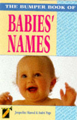The Bumper Book of Babies' Names by Jacqueline Harrod image