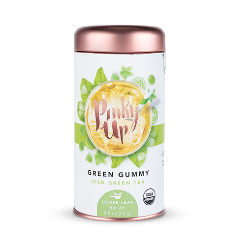 Pinky Up - Green Gummy Loose Leaf Iced Tea