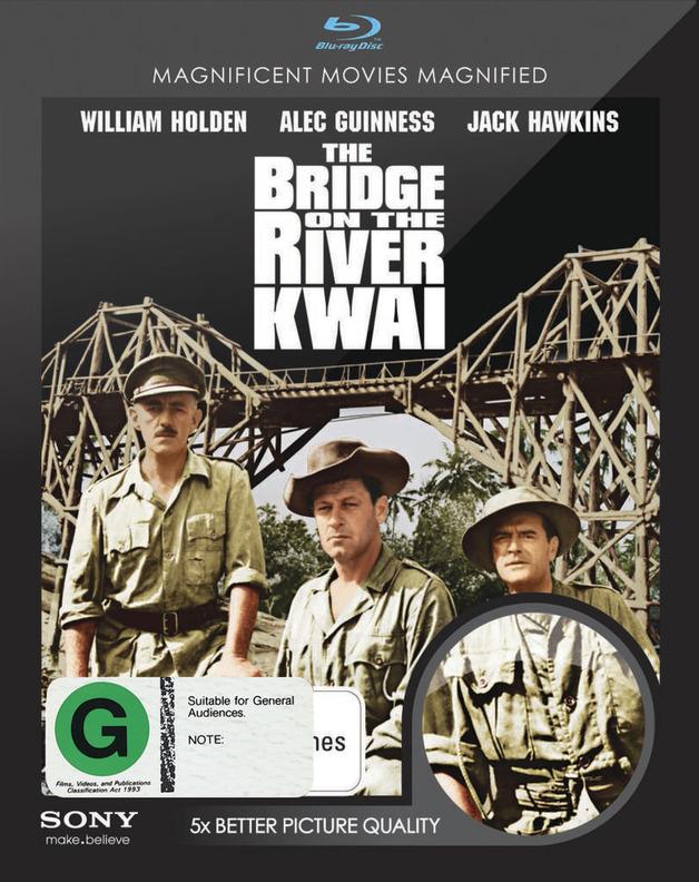 The Bridge On the River Kwai on Blu-ray