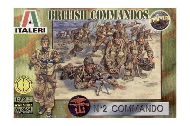 Italeri British Commandos (WWII) 1:72 Model Kit