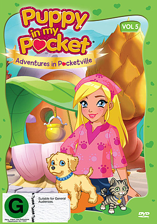 Puppy in My Pocket: Volume 5 on DVD