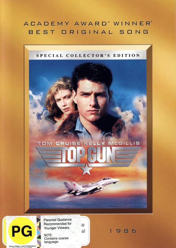Top Gun on DVD