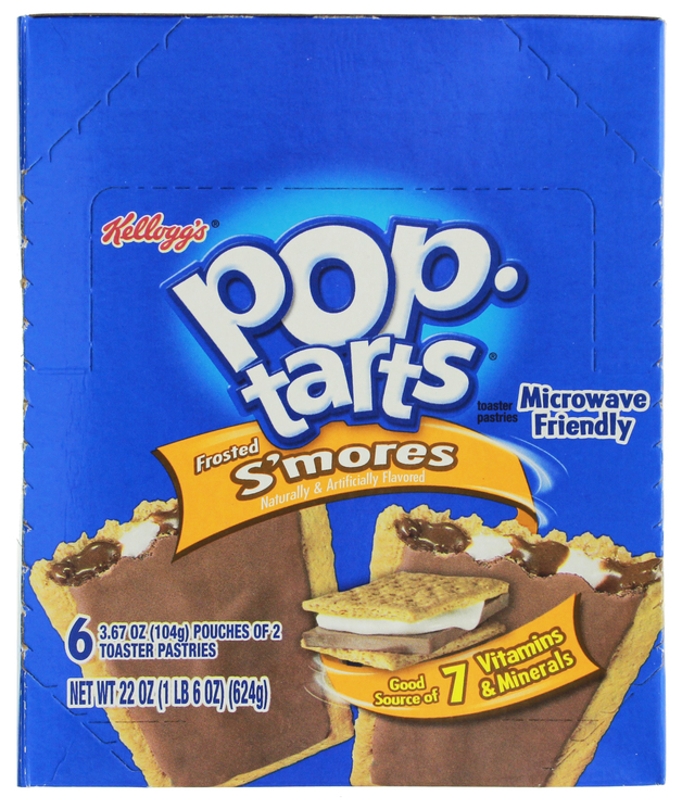 Kellogg's Pop Tarts - Frosted S'mores (12 Pack)