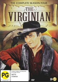 The Virginian: The Complete Season Four on DVD