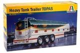 Italeri: 1:24 Heavy Tank Trailer (Topas) - Model Kit
