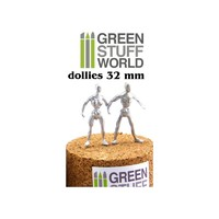 Green Stuff World Flexible Armatures in 32 mm
