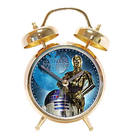 Star Wars Gold Alarm Clock