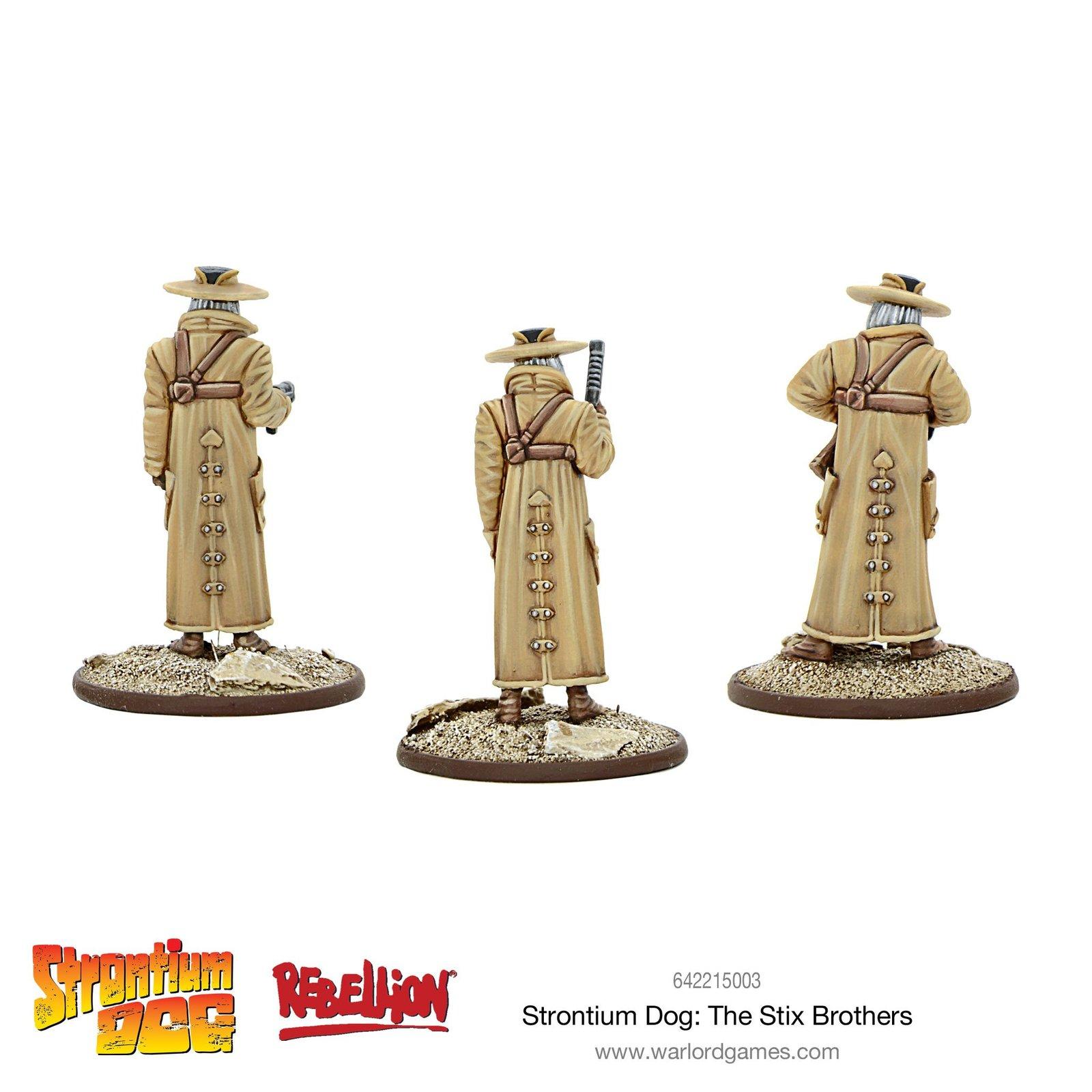 Strontium Dog: The Stix Brothers image