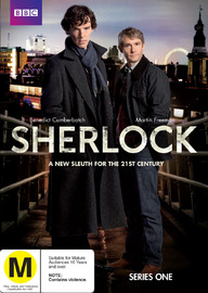 Sherlock - Series 1 (2 Disc Set) on DVD