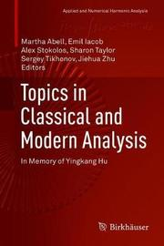 Topics in Classical and Modern Analysis image