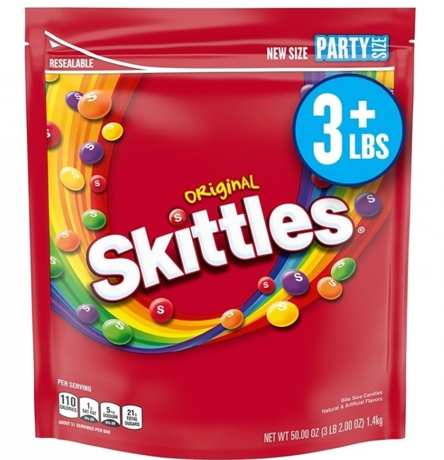 Skittles Original Candies 1.4kg