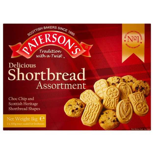 Paterson's Choc Chip & Shortbread Assortment 1kg