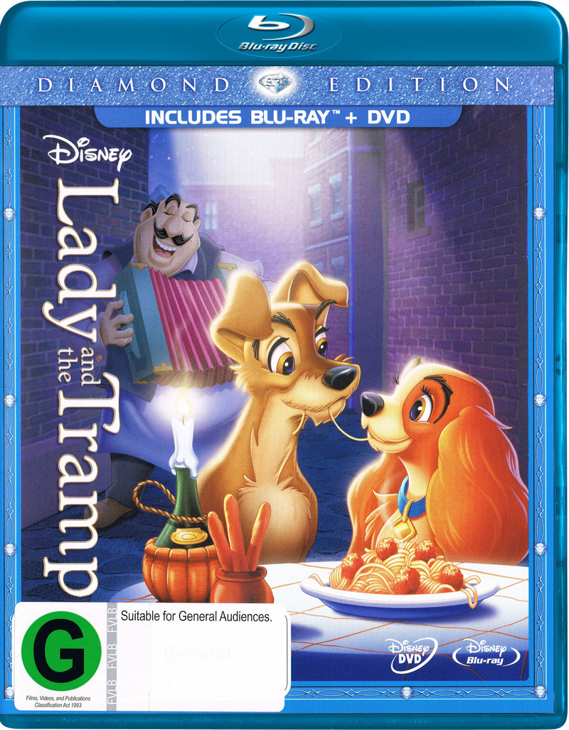 Lady and the Tramp (Diamond Edition) on Blu-ray image