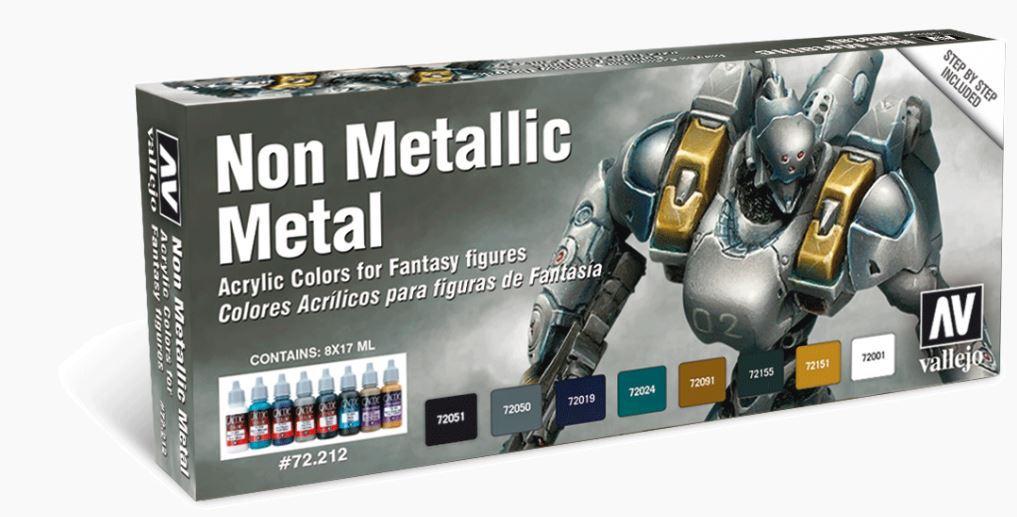 Vallejo Non Metallic Metal Paint Set image