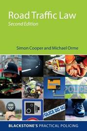 Road Traffic Law by Simon Cooper
