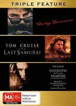 Risky Business / Last Samurai / Interview With The Vampire - Triple Feature (3 Disc Set) on DVD
