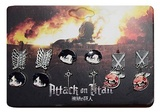 Attack on Titan: Stud Earring Set - 6-Pack