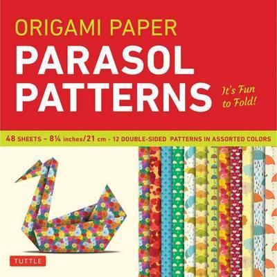 "Origami Paper Parasol Patterns 8 1/4"" - 48 Sheets"
