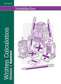 Written Calculation: Division 1 Answers by Steve Mills