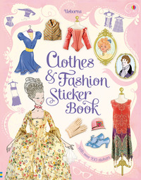 Clothes and Fashion Sticker Book by Ruth Brocklehurst