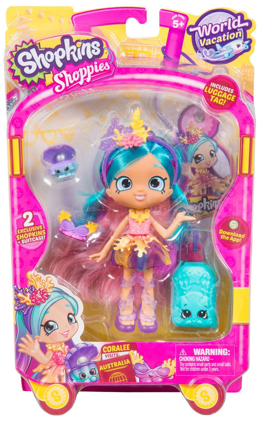 Shopkins: Shoppies - Season 8 Coralee image