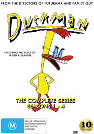 Duckman The Complete Series (Seasons 1-4) on DVD