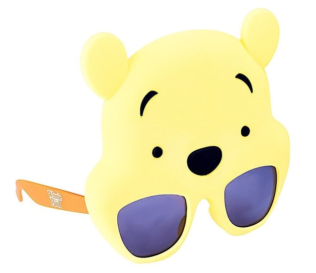 Sunstaches: Costume Sunglasses - Winnie The Pooh