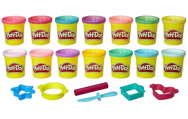 Play-Doh: Sparkle & Bright Colours - 14 Pack