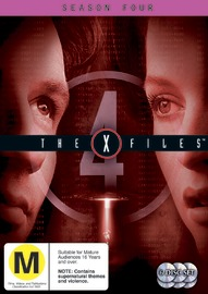 The X-Files - Season 4 (6 Disc Set) DVD