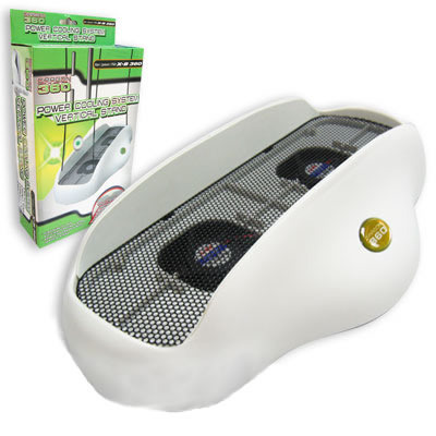 Power Cooling System Vertical Stand for Xbox 360