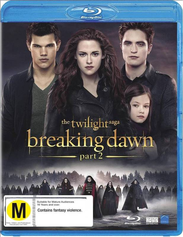 The Twilight Saga: Breaking Dawn - Part 2 on Blu-ray