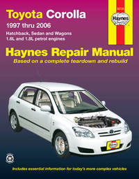 Toyota Corolla by Haynes Publishing