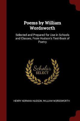 Poems by William Wordsworth by Henry Norman Hudson image