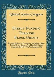 Direct Funding Through Block Grants by United States Congress image