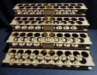 TTCombat: Mega Paint Rack - Vallejo (76 Pots)