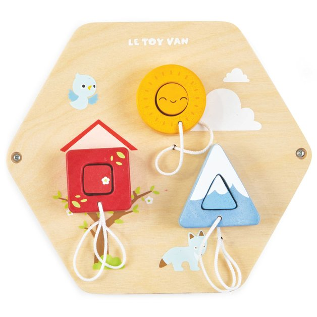 Le Toy Van: Wooden Activity Tile - Shapes