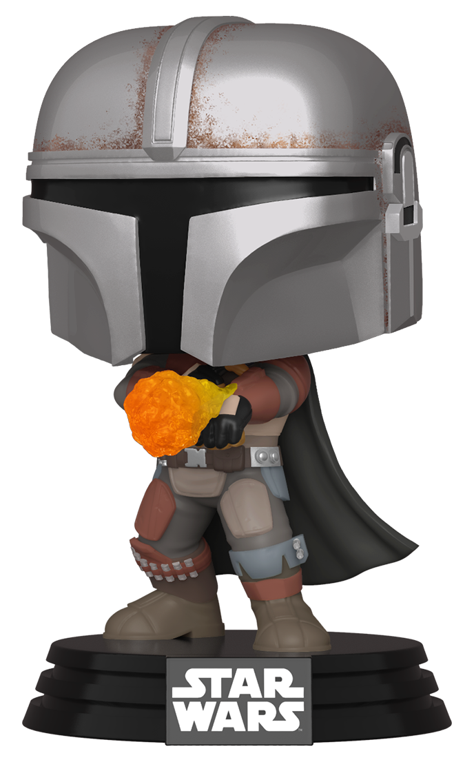 Star Wars: The Mandalorian - (Wrist Rocket) Pop! Vinyl Figure image