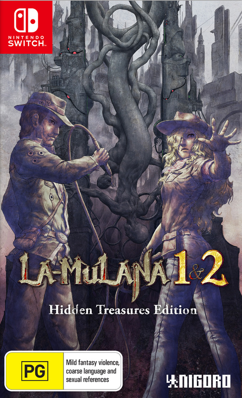 LA-Mulana 1 & 2: Hidden Treasures Edition for Switch